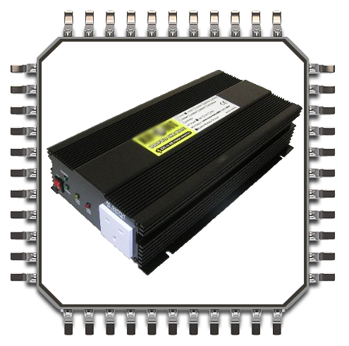 1000w modified power inverter with built in battery